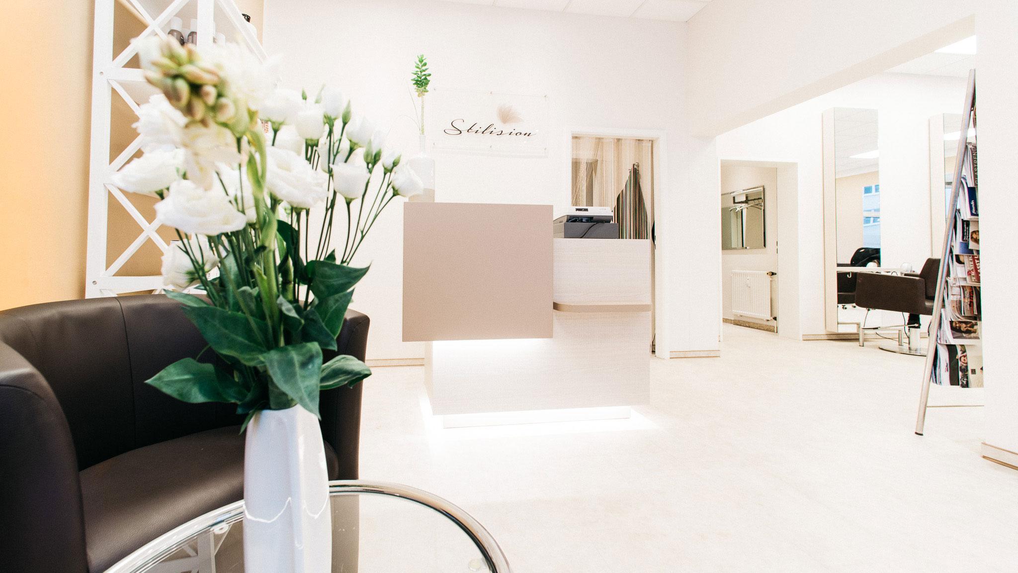 Empfang Stilision – Friseur am Schweizerhof in Hannover